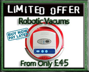 ROBOTIC VACUUM cleaners from £45