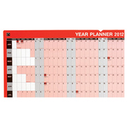 5 Star 2012 Year Planner January to December £2.49 in StationeryHut
