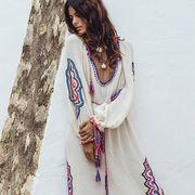 Embroidered Tunics,  Bohemian Moroccan Tunics and Jackets